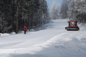 Skilanglaufzentrum Silberhütte - Loipe braun