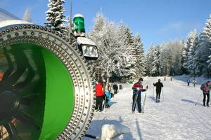 Skilanglaufzentrum Silberhütte - Loipe rot
