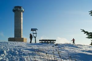 Loipe über den Schneekopf-Zellaer Weg