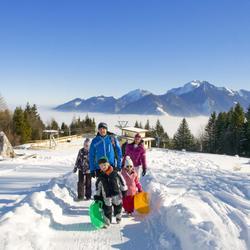 Rodeln auf 4 Bahnen im Kaiser-Gebirge   Wilder Kaiser