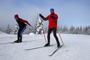 Skilanglaufzentrum Silberhütte - Loipe blau
